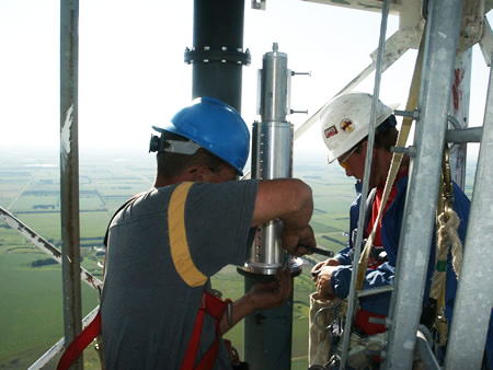 Midwest Steeplejacks is an industry leader in quality control for wireless communication.